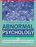 Abnormal Psychology, Davison, Gerald C. and Johnson, Sheri L., 047174297X