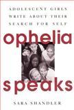 Ophelia Speaks, Sara Shandler, 0060952970