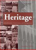 Heritage : Identification, Conservation and Management, Aplin, Graeme, 0195512979