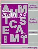 Math 54 Adaptation, Stephen Hake and John Saxon, 1565772970