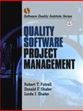 Quality Software Project Management, Futrell, Robert T. and Shafer, Donald F., 0130912972