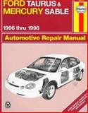 Ford Taurus and Mercury Sable Automotive Repair Manual, Layne, Ken, 1563922975