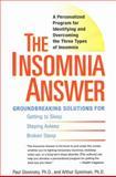 The Insomnia Answer, Paul Glovinsky and Art Spielman, 0399532978