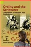 Orality and Scripture : Composition, Translation, and Transmission, Wendland, Ernst R., 1556712987