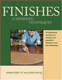 Finishes and Finishing Techniques, Fine Woodworking Magazine Staff, 1561582980