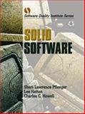 Solid Software, Pfleeger, Shari Lawrence and Howell, Charles C., 0130912980
