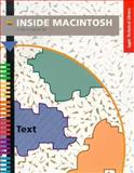 Inside Macintosh : Text, Apple Computers, Inc. Staff, 0201632985