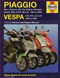 Piaggio/Vespa Scooters Service and Repair Manual, Matthew Coombs and Phil Mather, 184425299X