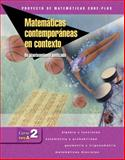 Matematicas Contemporaneas en Contexto Pt. A : Un Planteamiento Unificado, Course 2, Coxford, Arthur F. and Fey, James T., 0078692997