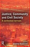 Justice, Community and Civil Society : A Contested Terrain, , 1843922991