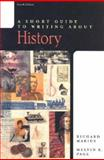 A Short Guide to Writing about History, Marius, Richard A. and Page, Melvin E., 0321093003
