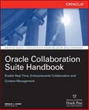 Oracle Collaboration Suite Handbook, Zapar, Ronald J., 0072263008