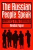 The Russian People Speak 9780815603009