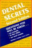 Dental Secrets, Sonis, Stephen T., 1560533005