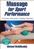 Massage for Sport Performance, Michael McGillicuddy, 0736083014
