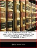 Les Paradoxes Littéraires de la Motte, La Motte and Bernard Jullien, 1142473015