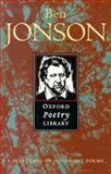 Ben Jonson, Ben Jonson, 0192823019