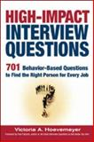 High-Impact Interview Questions, Victoria A. Hoevemeyer, 0814473016