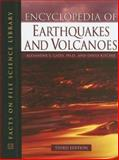Encyclopedia of Earthquakes and Volcanoes, Gates, Alexander E. and Ritchie, David, 0816063028