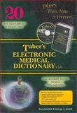 Taber's Electronic Medical Dictionary, Venes, Donald, 0803613032