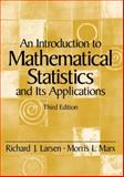 An Introduction to Mathematical Statistics and Its Applications, Larsen, Richard J. and Marx, Morris L., 0139223037