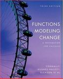 Functions Modeling Change : A Preparation for Calculus, Connally, Eric, 0471793035