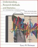 Understanding Research Methods and Statistics : An Integrated Introduction for Psychology, Heiman, Gary W., 0618043047