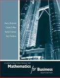 Student's Solutions Manual for Mathematics for Business, Salzman, Stanley A. and Miller, Charles D., 0321543041