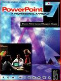 PowerPoint 7.0 for Windows, Glencoe Staff, 0028033043