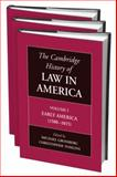 The Cambridge History of Law in America, Tomlins, Christopher L. and Grossberg, Michael, 0521803047