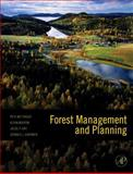 Forest Management and Planning, Bettinger, Peter and Siry, Jacek, 0123743044