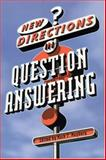 New Directions in Question Answering, , 0262633043