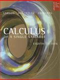 Calculus of a Single Variable, Bruce H. Edwards and Robert P. Hostetler, 0618503048