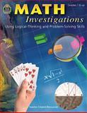 Math Investigations, Tom Rice, 0743933044