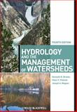 Hydrology and the Management of Watersheds, Brooks, Kenneth N. and Ffolliott, Peter F., 0470963050