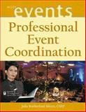 Professional Event Coordination, Silvers, Julia Rutherford, 0471263052