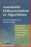Automatic Differentiation of Algorithms : From Simulation to Optimization, , 0387953051