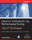 Oracle Database 10g Performance Tuning Tips and Techniques, Niemiec, Richard J., 0072263059