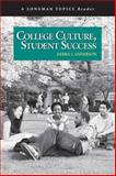College Culture, Student Success, Anderson, Debra J., 032143305X