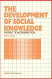 The Development of Social Knowledge : Morality and Convention, Turiel, Elliot, 0521273056