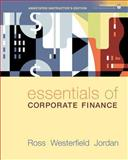 Essentials of Corporate Finance, Ross, Stephen A. and Westerfield, Randolph, 007331305X