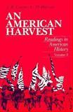 An American Harvest 9780155023055