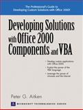 Developing Solutions with Office 2000 Components and VBA 9780130263056