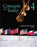 Reading for Today 4: Concepts for Today, Mare, Nancy Nici and Smith, Lorraine C., 1111033056