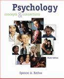 Psychology : Concepts and Connections, Rathus, Spencer A., 0534633056