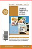 Writing Research Papers : A Complete Guide, Books a la Carte Edition, Lester, Jim D. and Lester, James D., 0205223060
