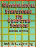 Mathematical Structure for Computer Science, Gersting, Judith L. and Gersting, Gersting, 0716783061