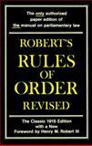 Robert Rule of Order, Henry M. Robert, 0688053068