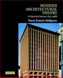 Modern Architectural Theory 9780521793063