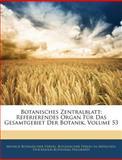 Botanisches Zentralblatt, Munich Botanischer Verein and Botanischer Verein In München, 1143713060